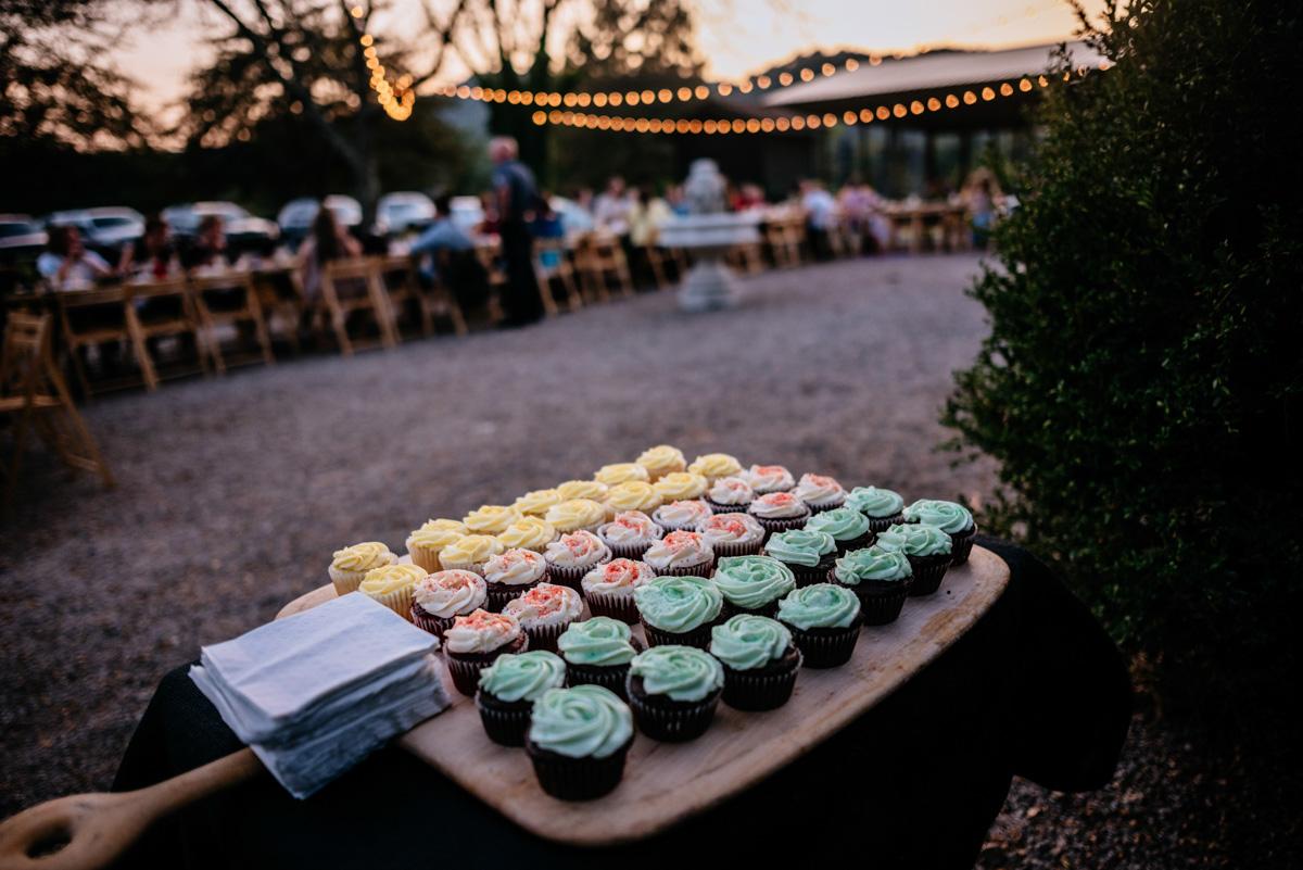 cupcakes jq dickinson saltworks wedding reception charleston west virginia