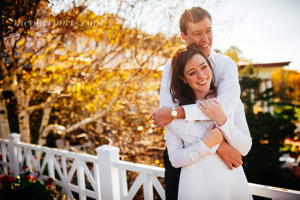 autumn engagement in pennsylvania by the oberports