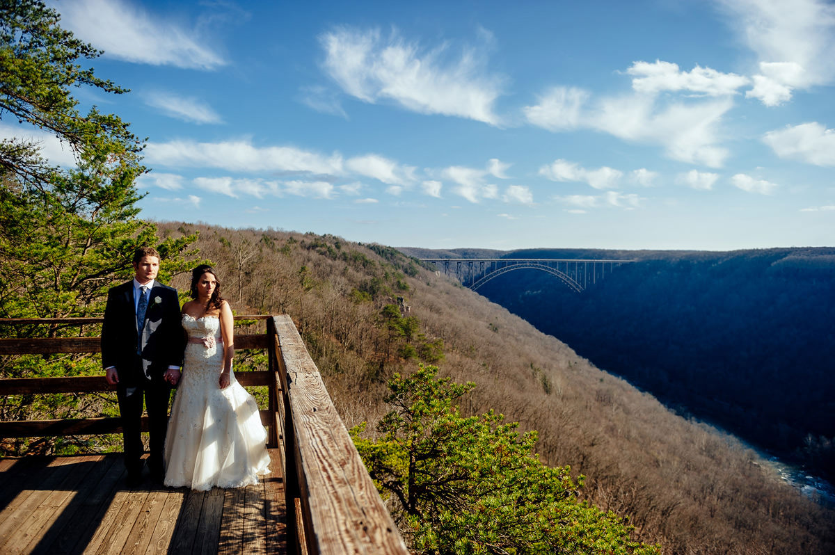 Best West Virginia Wedding Photographers The Oberports Smokeys On Gorge Fayetteville