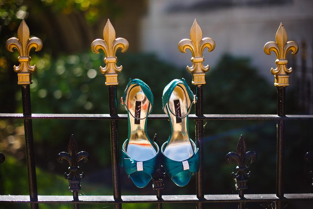bride shoes wedding details