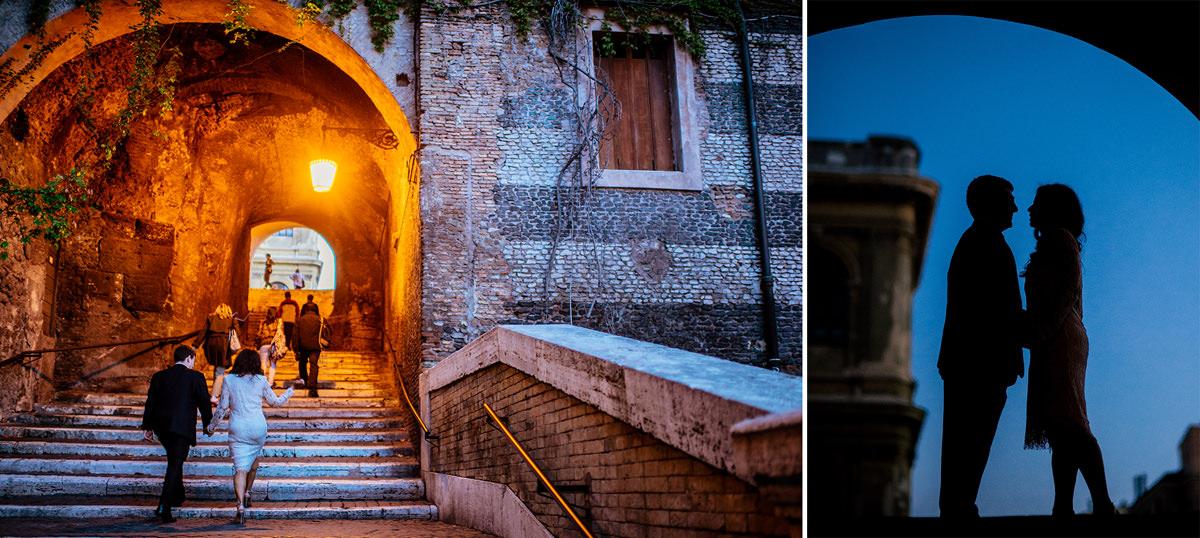 italy elopement rome destination wedding