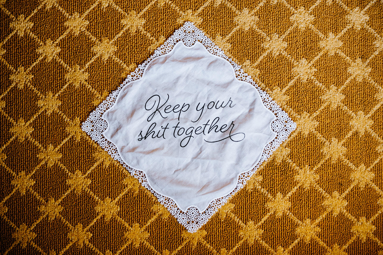 keep your shit together hankie