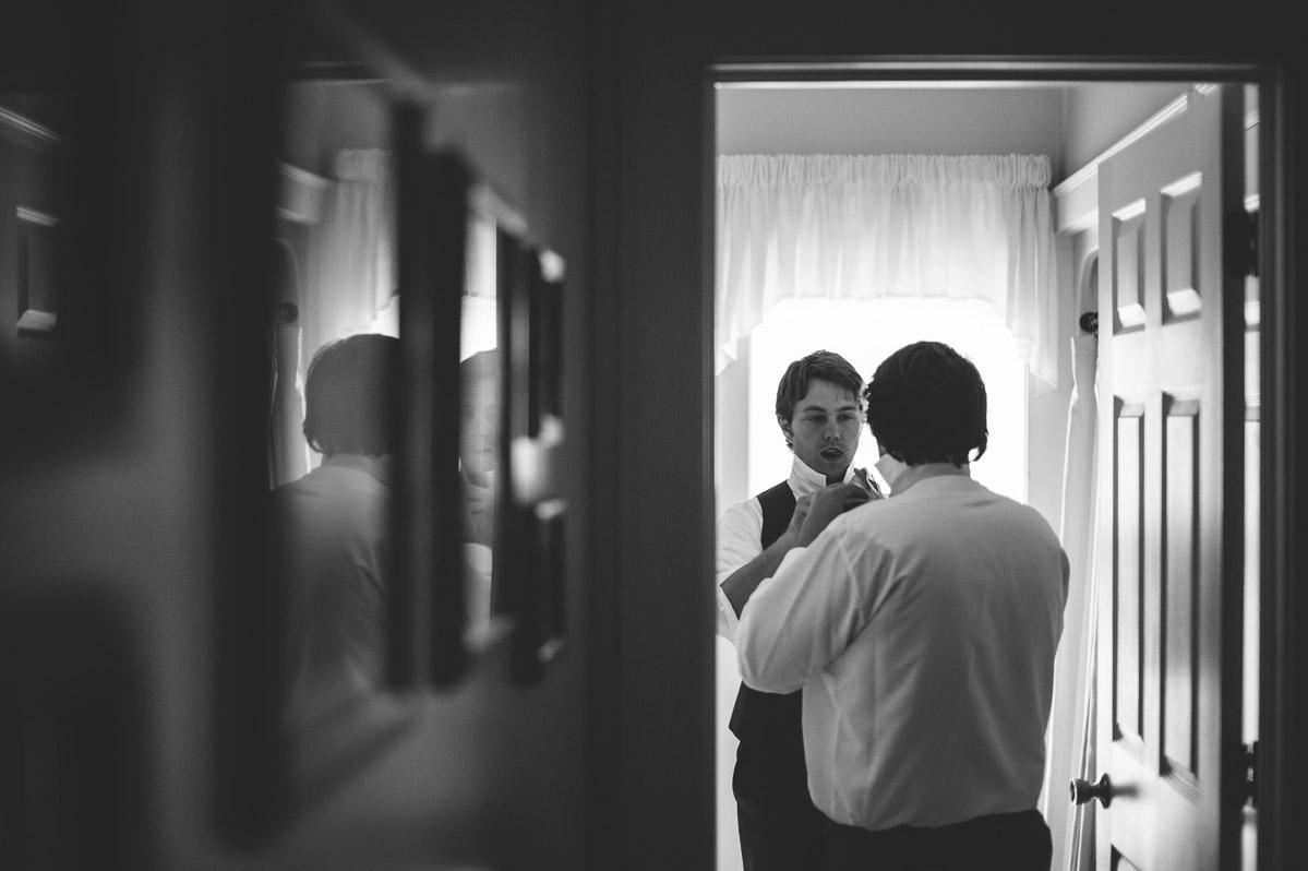 wv groom getting ready