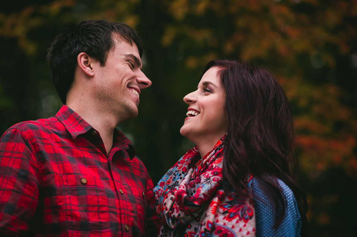 best autumn engagement photos by the oberports