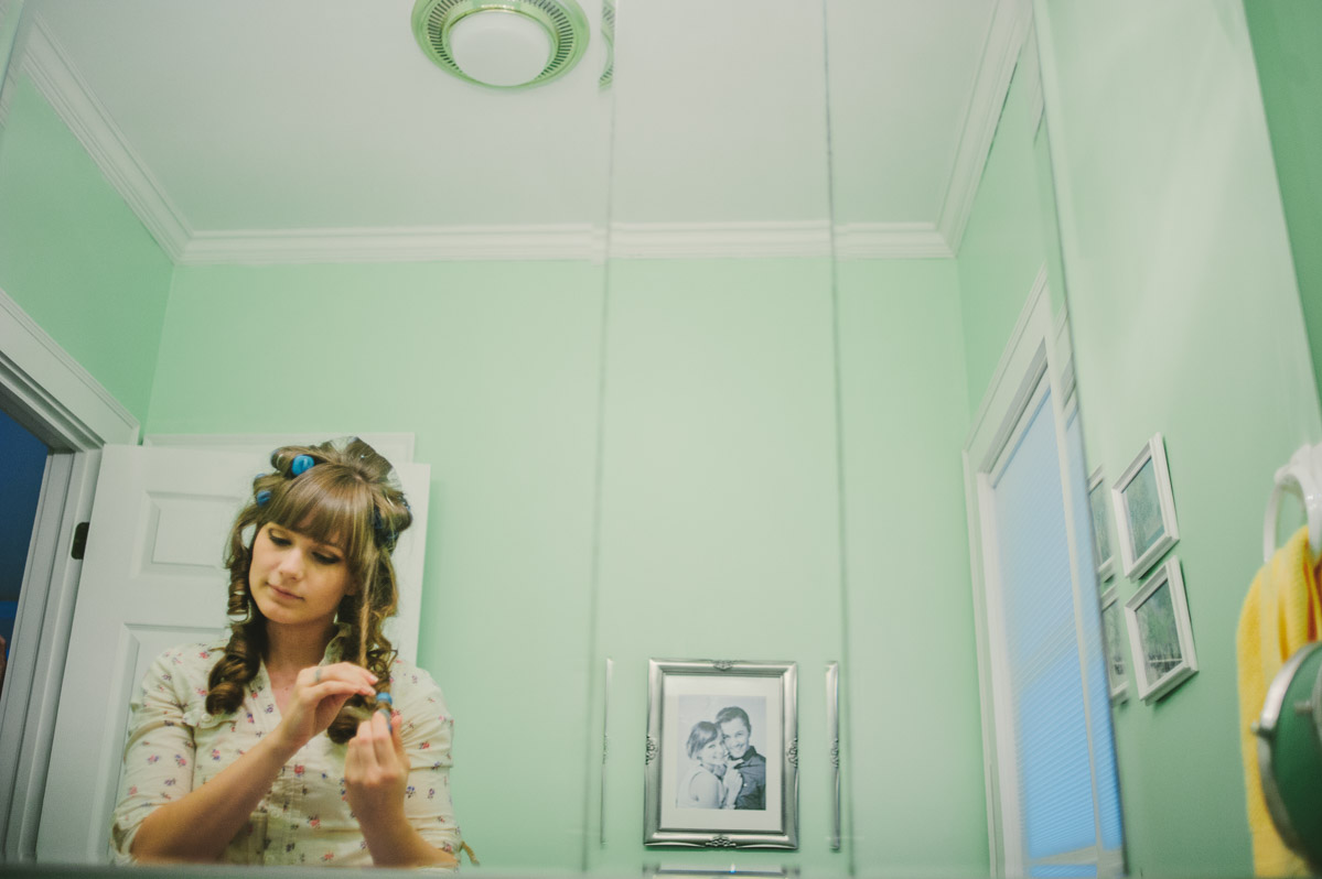 bride getting ready charleston west virginia