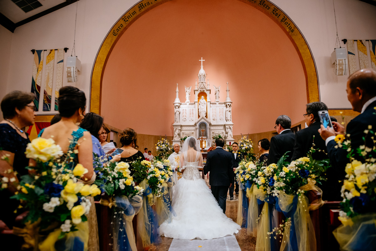 charleston wv wedding sacred heart cathedral