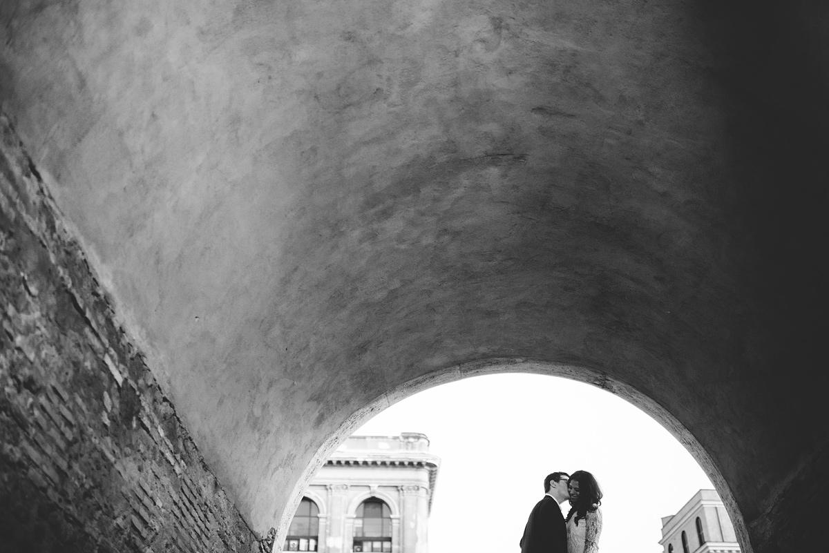destination wedding photography rome engagement photos