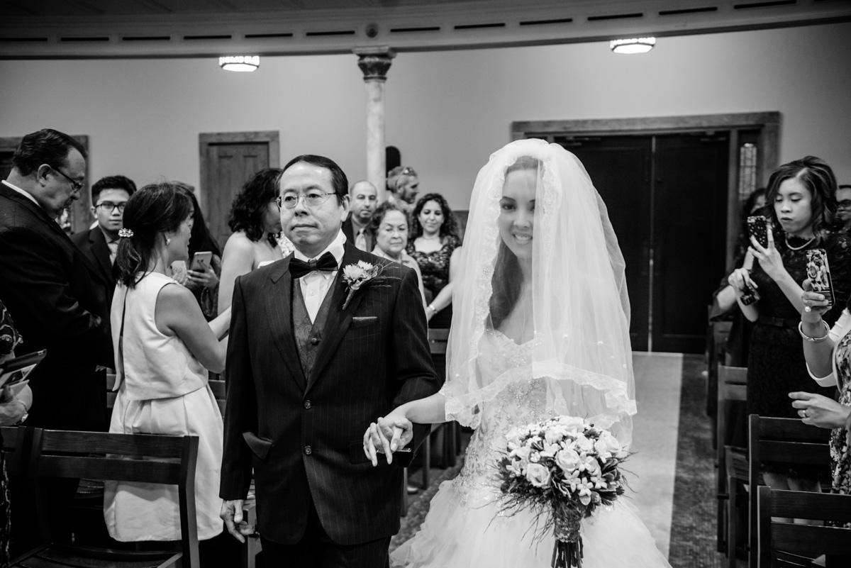 charleston wv wedding ceremony at sacred heart