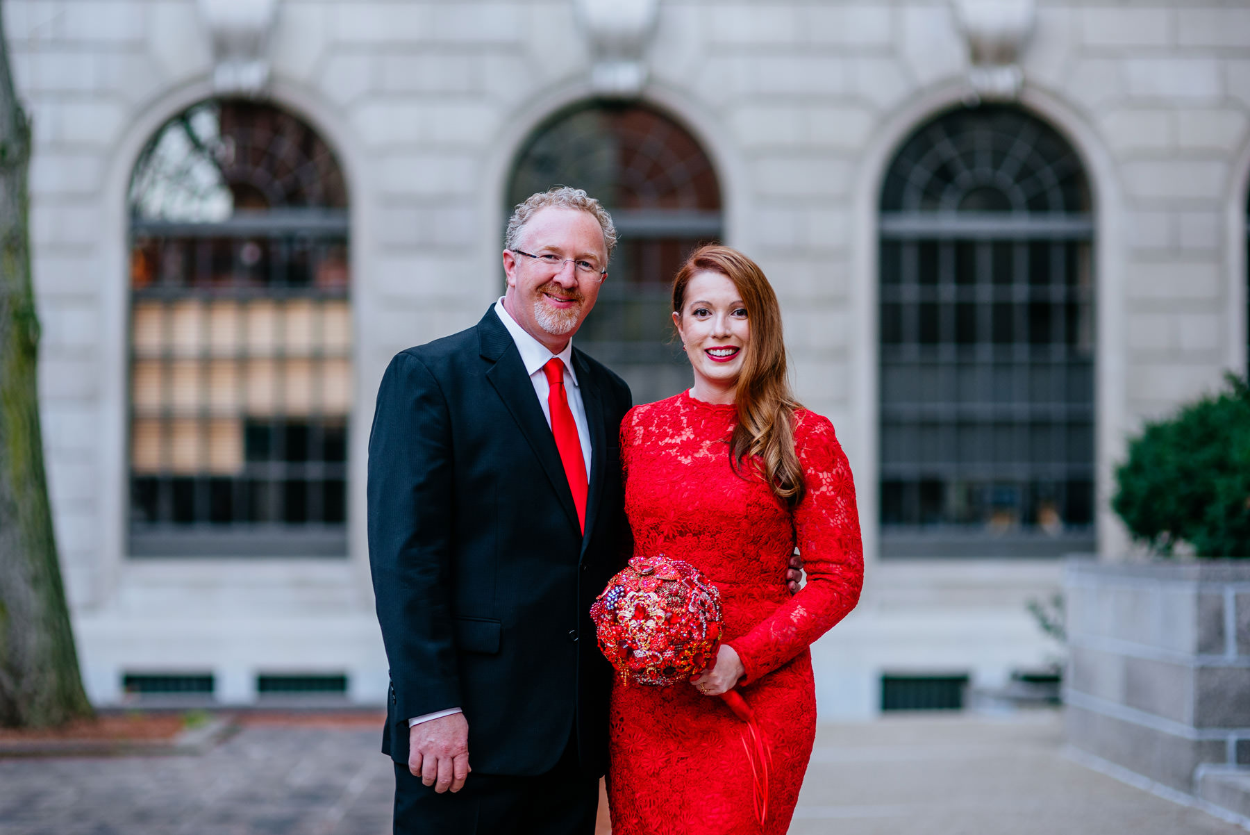 downtown charleston wv wedding portraits