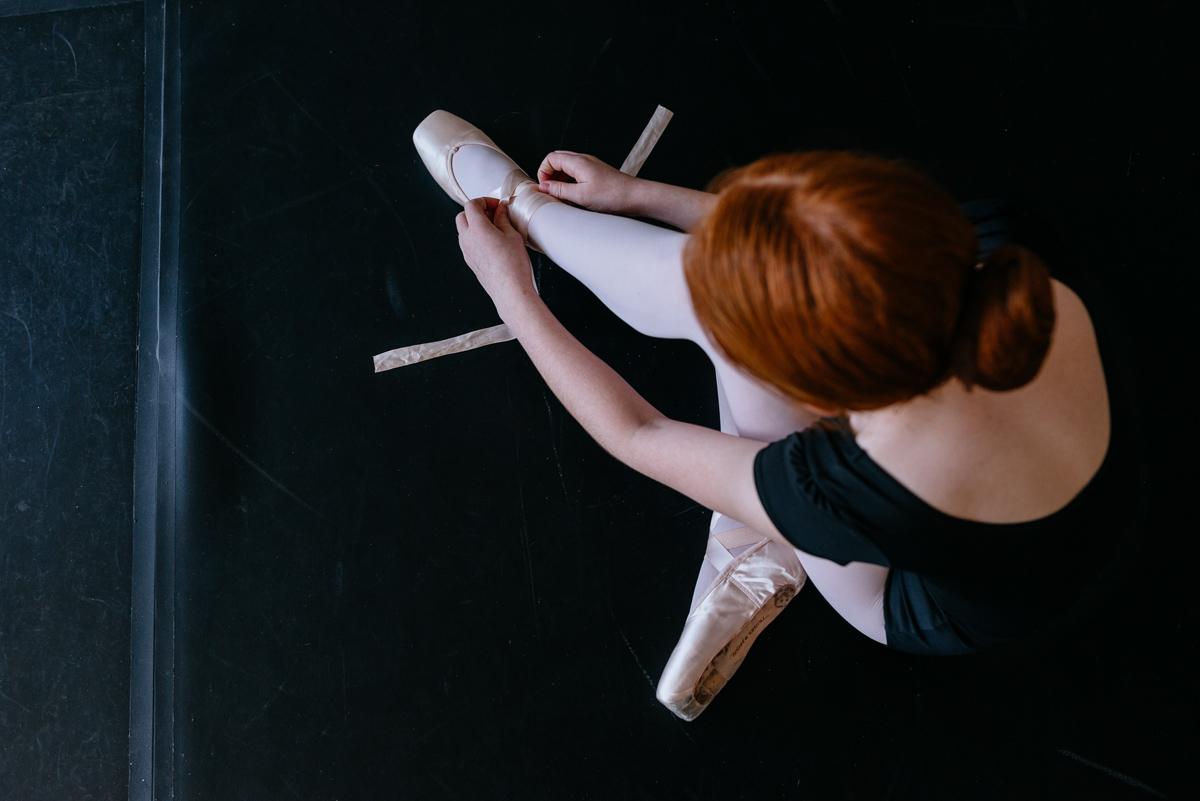 little ballerina en pointe in wv 1