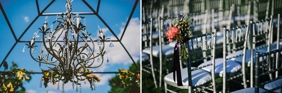 outdoor wedding ceremony details