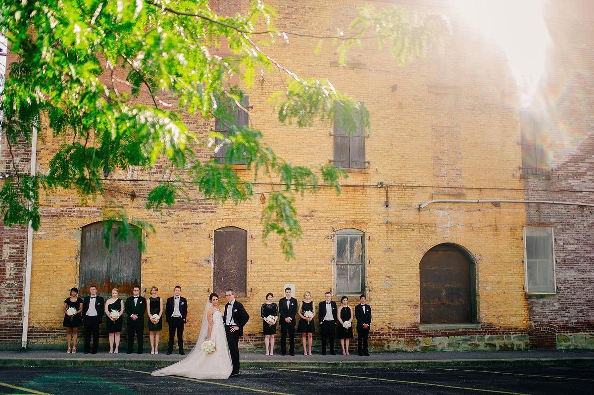 parkersburg west virginia wedding photos wedding party