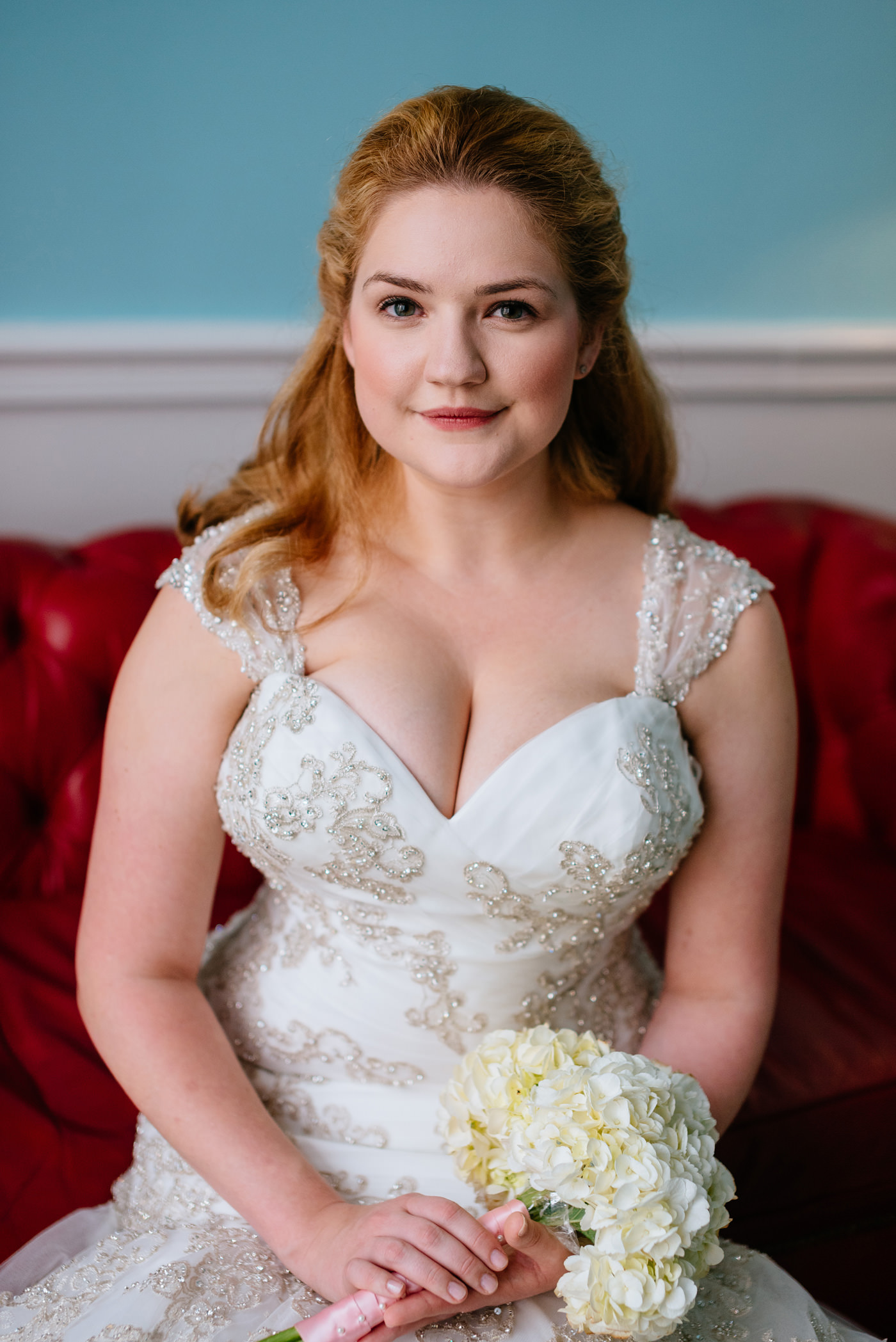 beautiful bridal portraits at the greenbrier resort wv