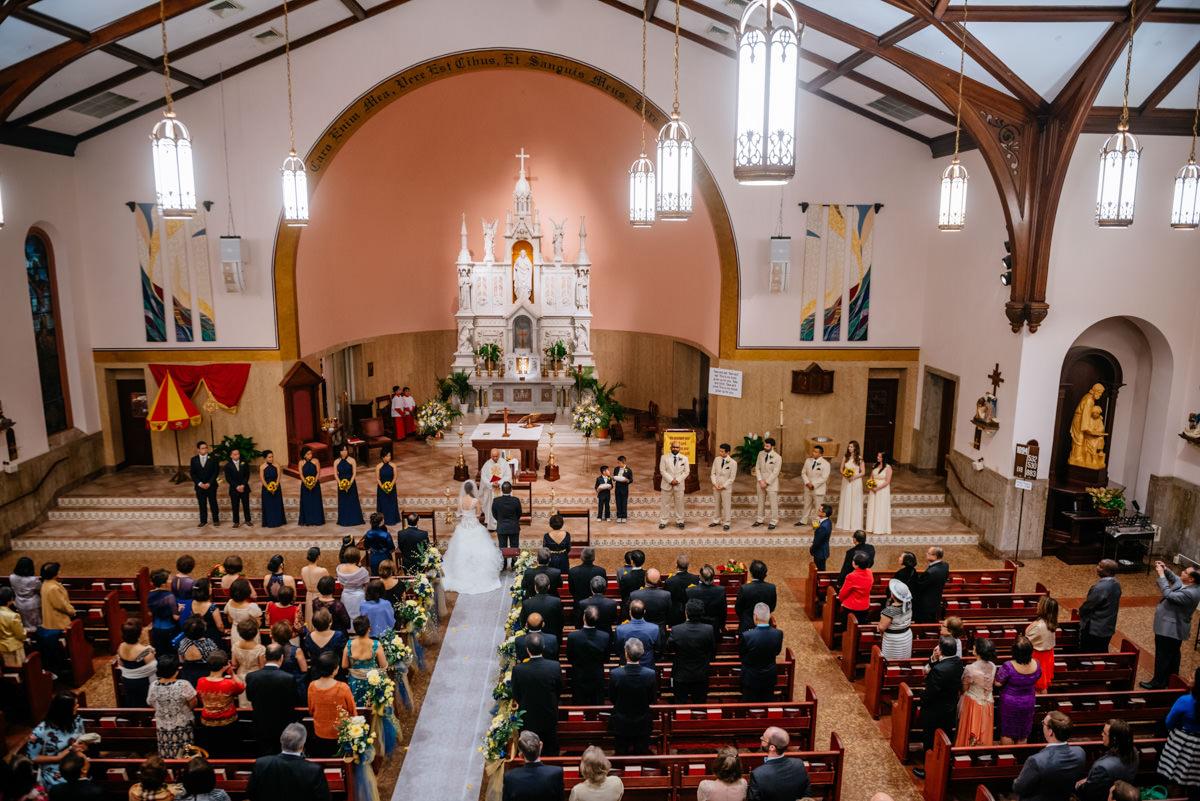 charleston wv wedding sacred heart ceremony