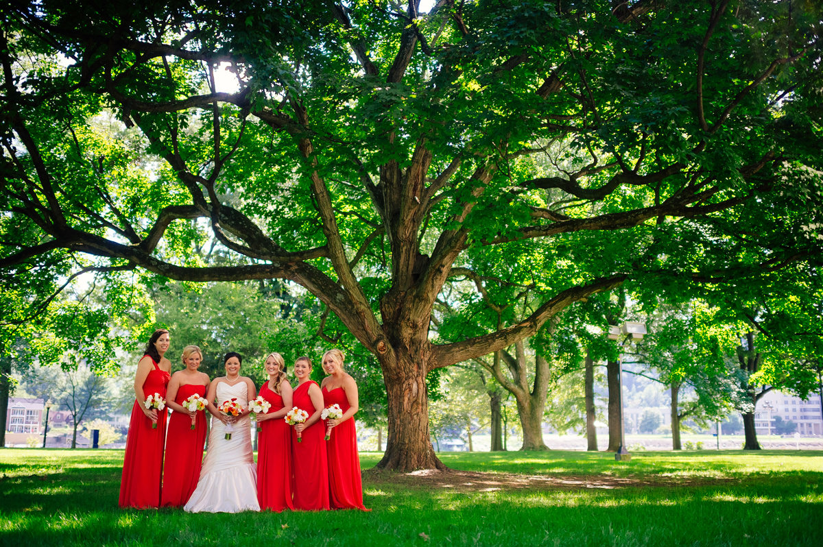 wedding bridesmaids charleston wv