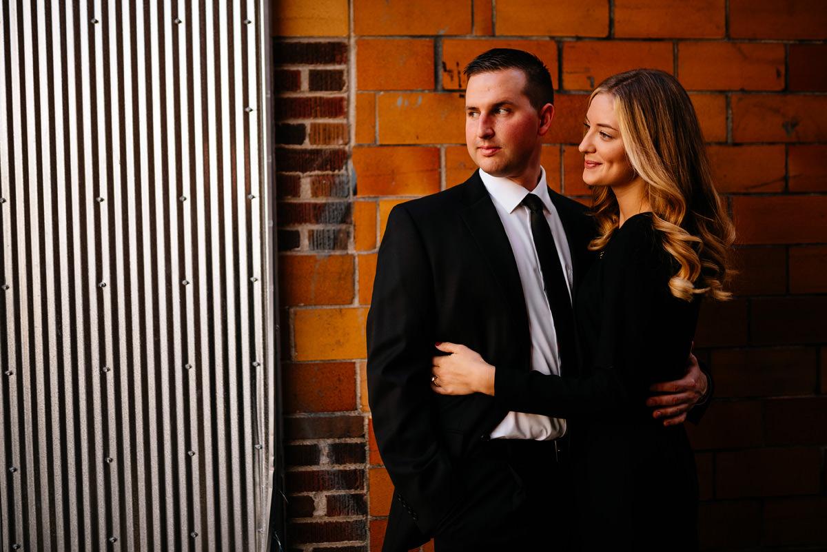 athens ohio couples portraits