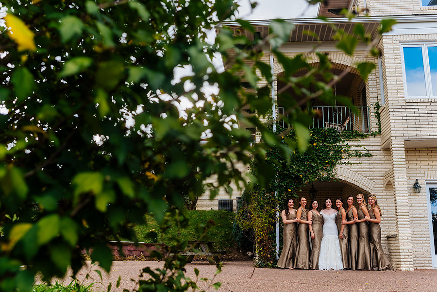 bridesmaids photo in morgantown in october by best wv wedding photographers the oberports