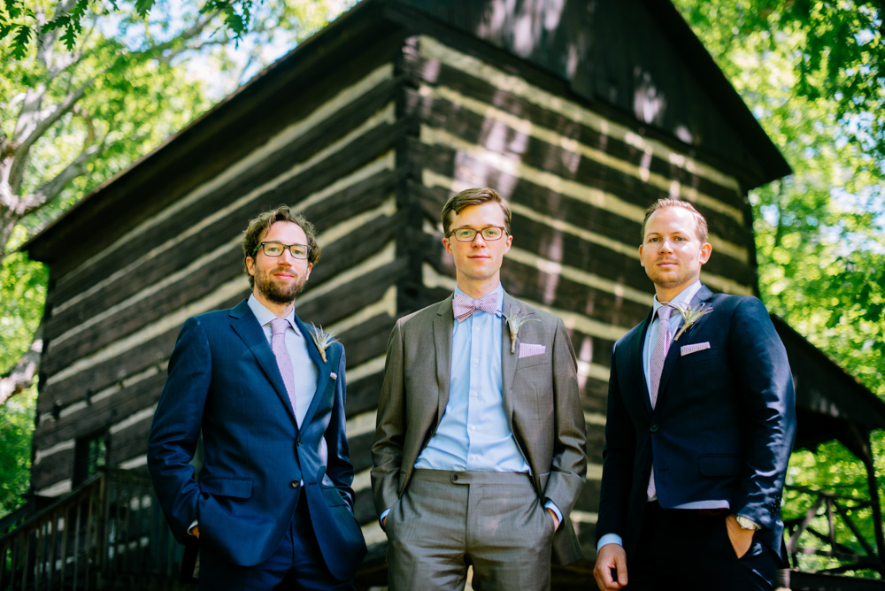 camp muffly groomsmen photo