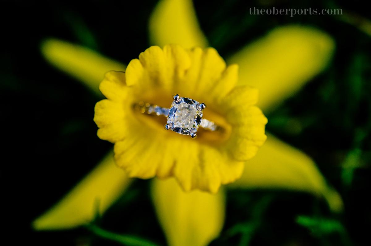 daffodil engagement ring