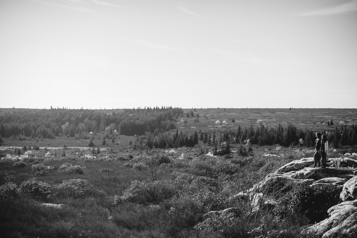 dolly sods wilderness west virginia black and white family portraits