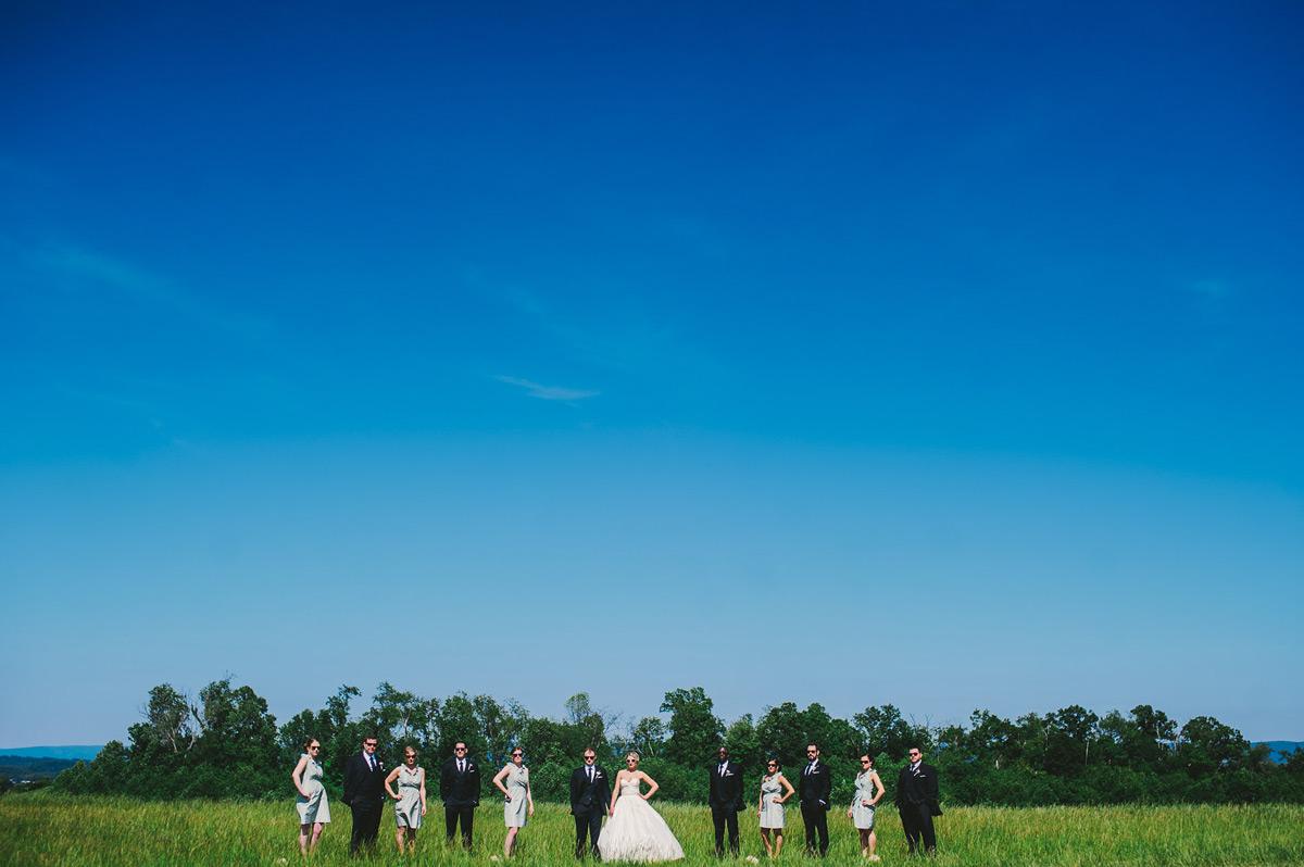 morgantown weddingparty outdoor portraits