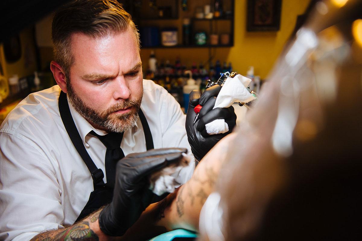 nick quinn west virginia tattoo artist