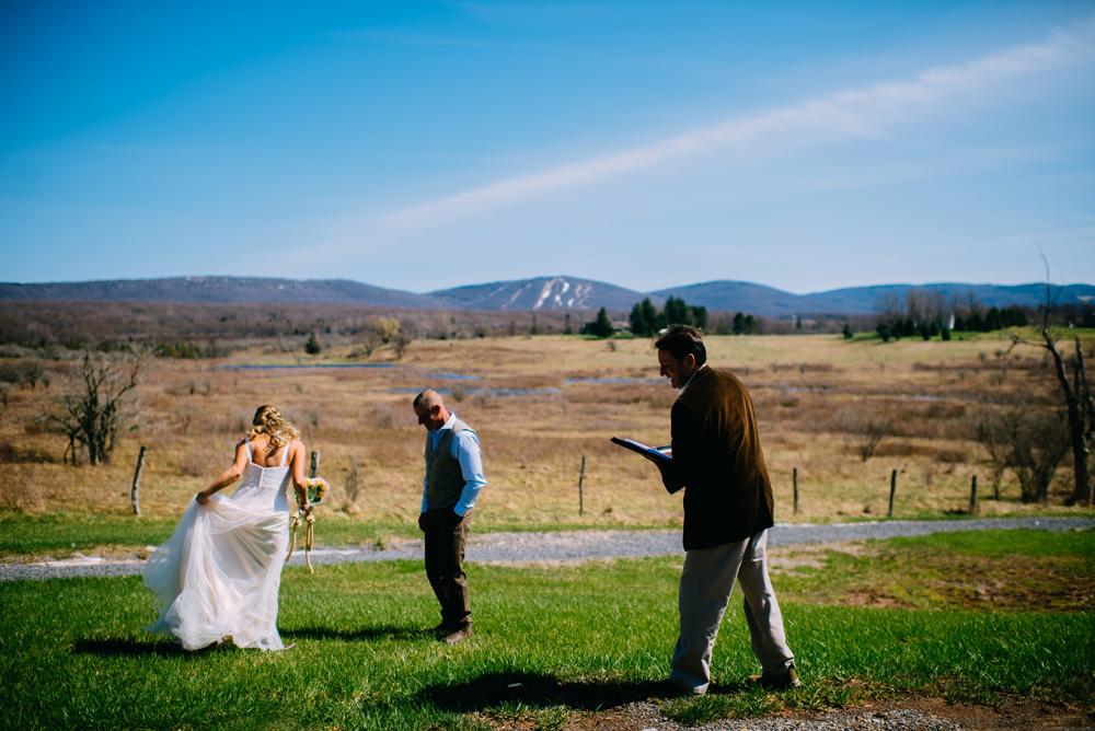 black bear lodge elopement canaan valley west virginia