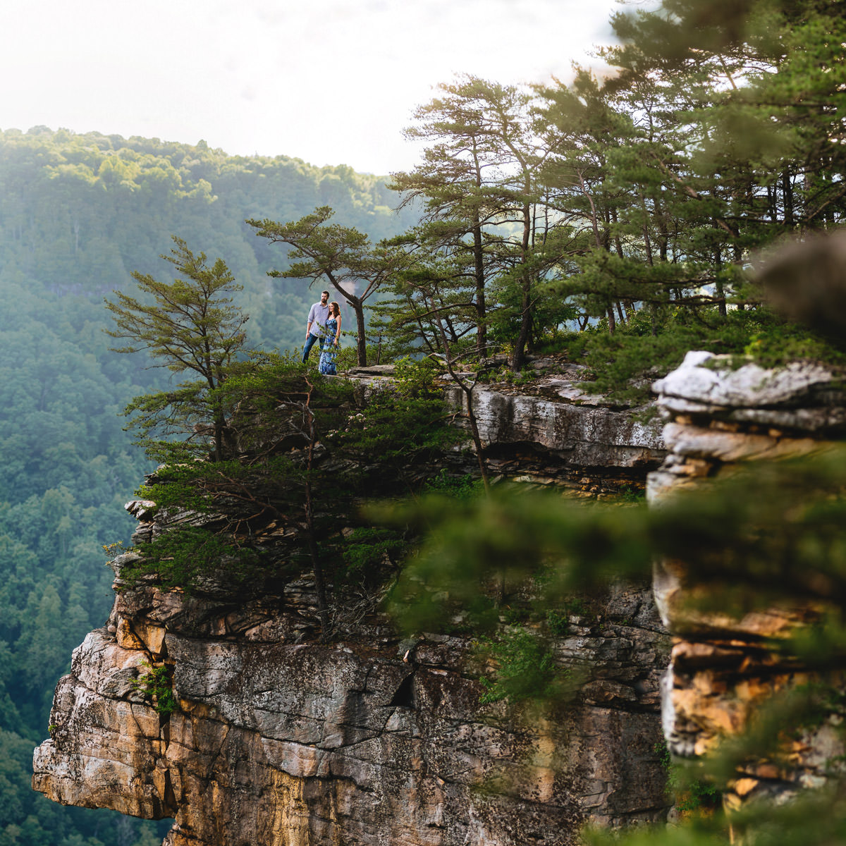 Backpacking West Virginia: An Endless Wall Trail Engagement // Katie & Andrew • The