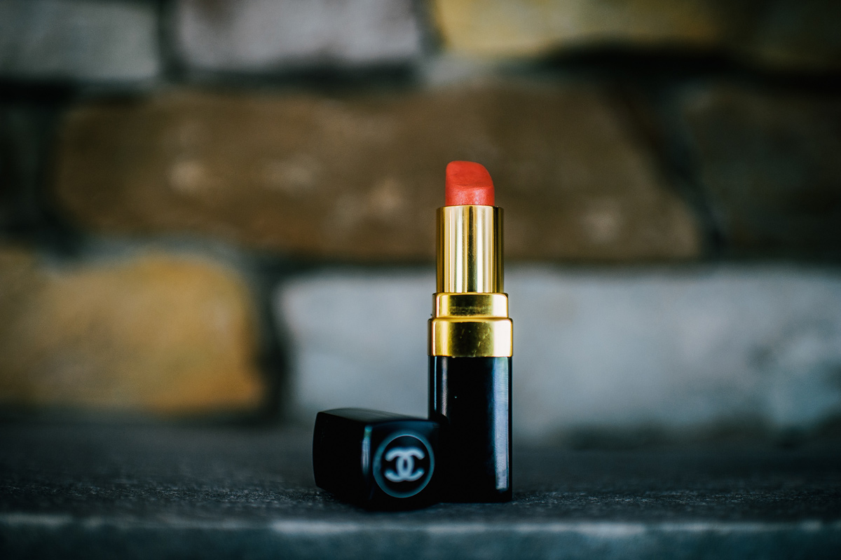 coral chanel lipstick bridal makeup