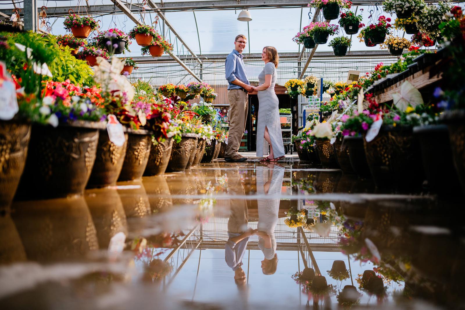 creative ohio greenhouse engagement