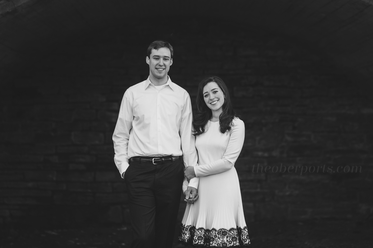 engagement photos by the oberports