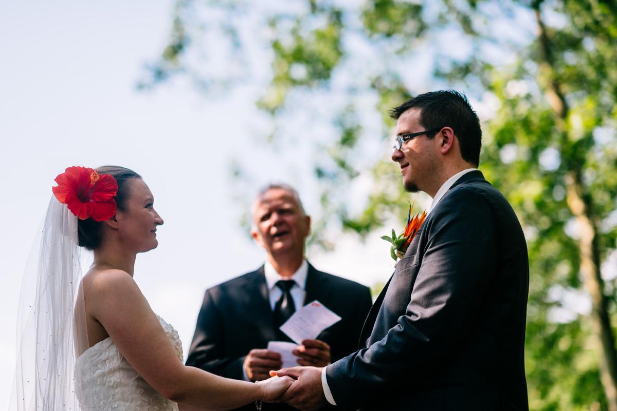 wv wedding ceremony AOTG
