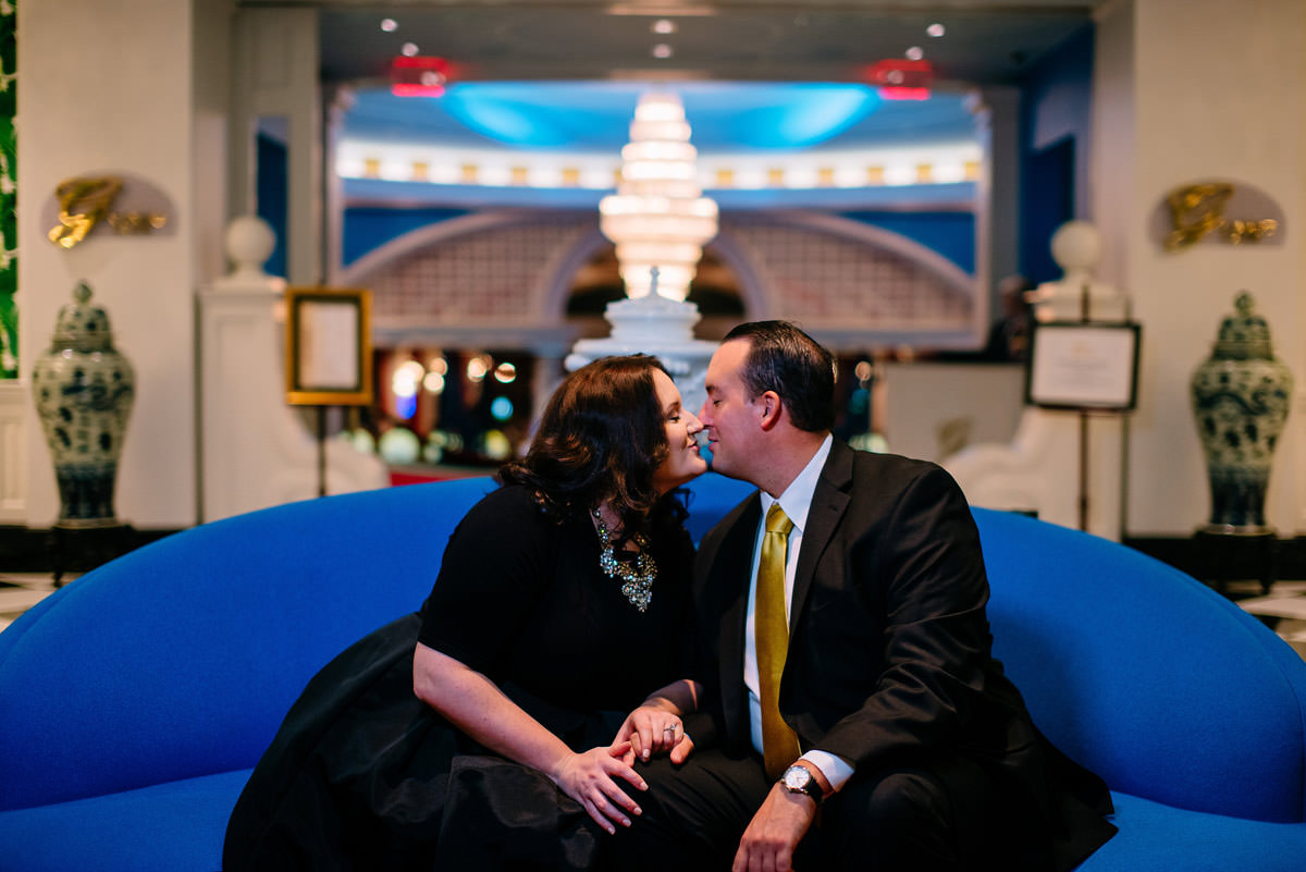 colorful fancy engagement session wv