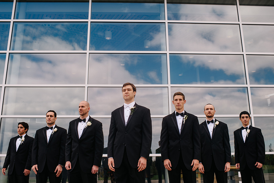 epic wv groomsmen photo