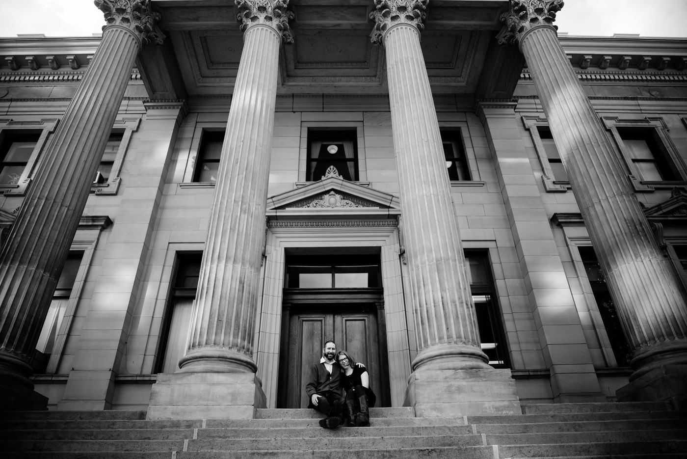 fairmont wv courthouse portrait