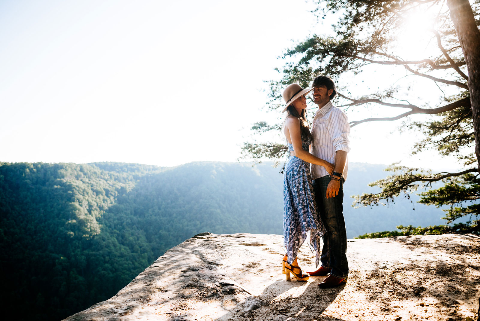 new river gorge couples portraits