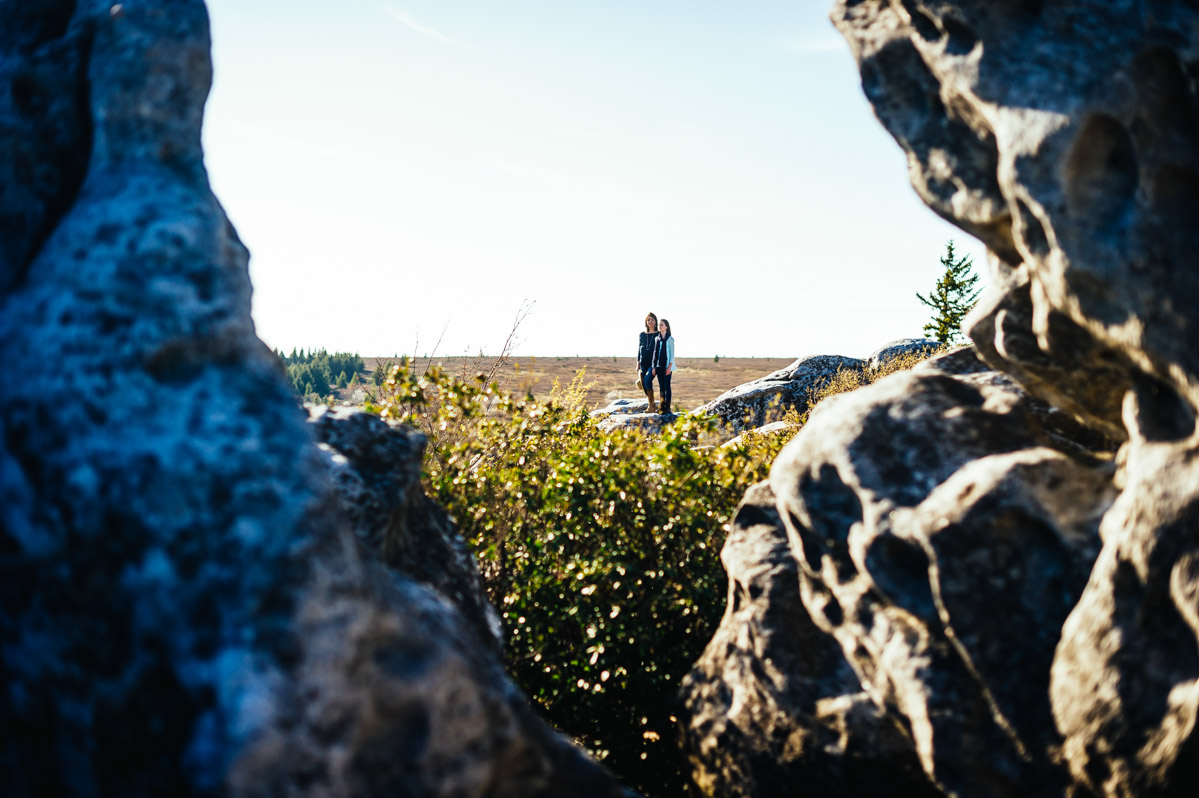 scenic portraits in west virginia dolly sods