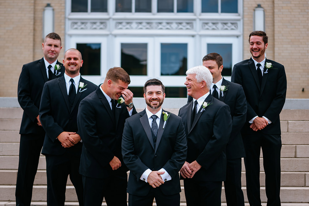 university of charleston UC wedding wv groomsmen picture