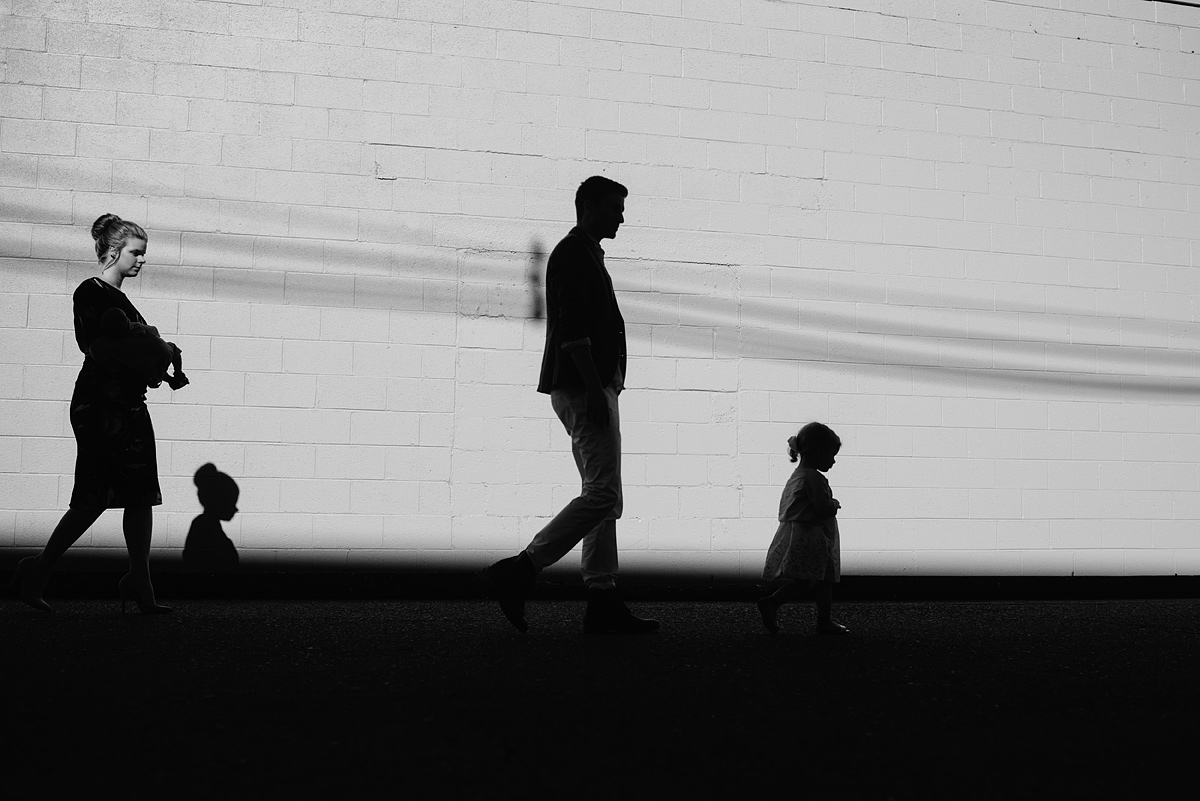 family photo silhouette wv