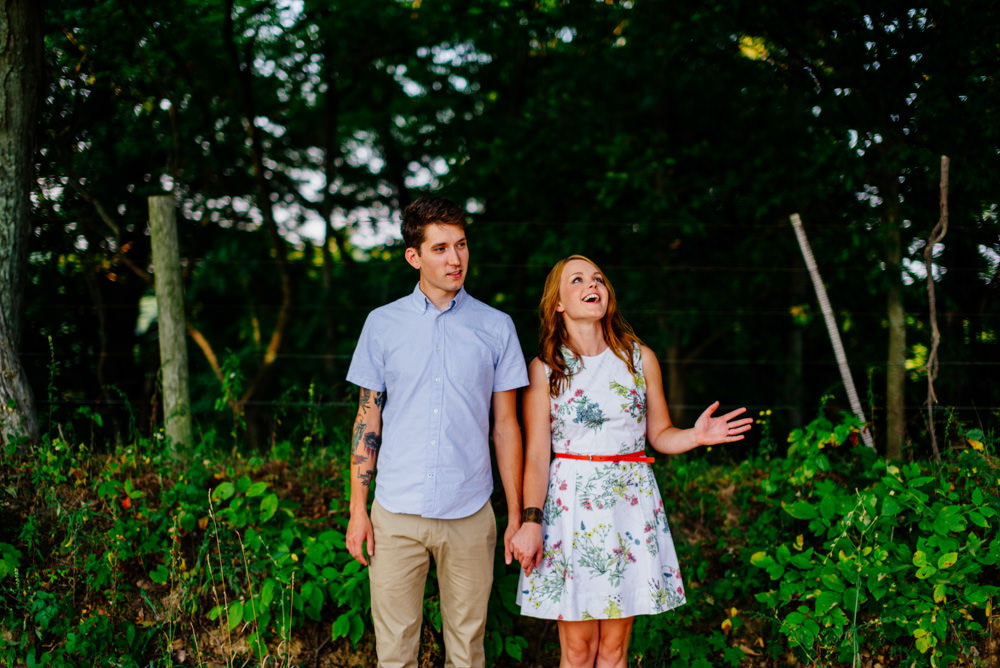 west virginia mountain state engagement photography
