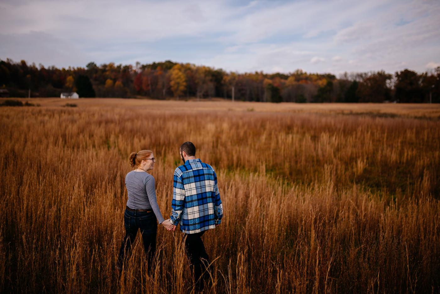 rock lake fairmont wv autumn portraits