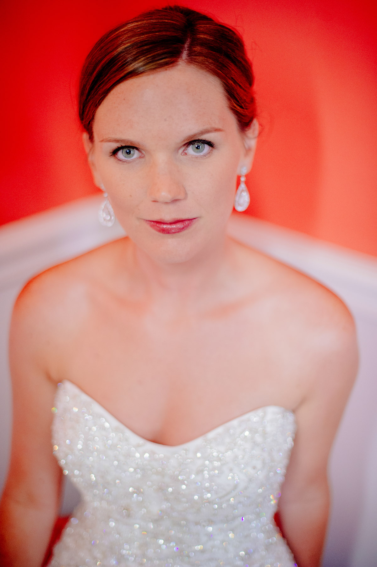 bridal photo colorful classy greenbrier resort wedding