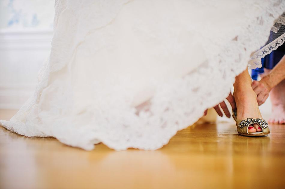 bride shoes flats