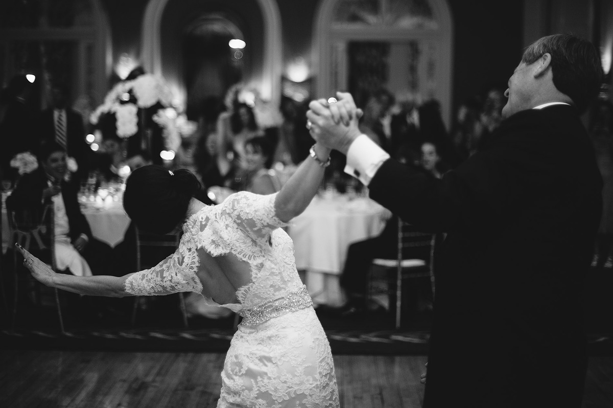 father daughter dance at the greenbrier resort