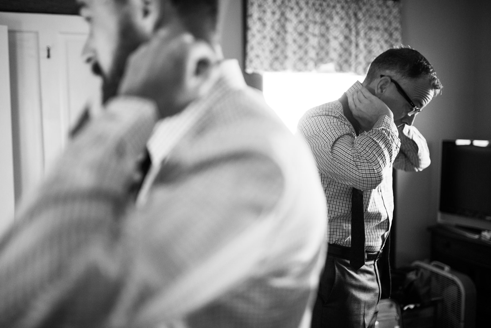 grooms getting ready together wv gay wedding