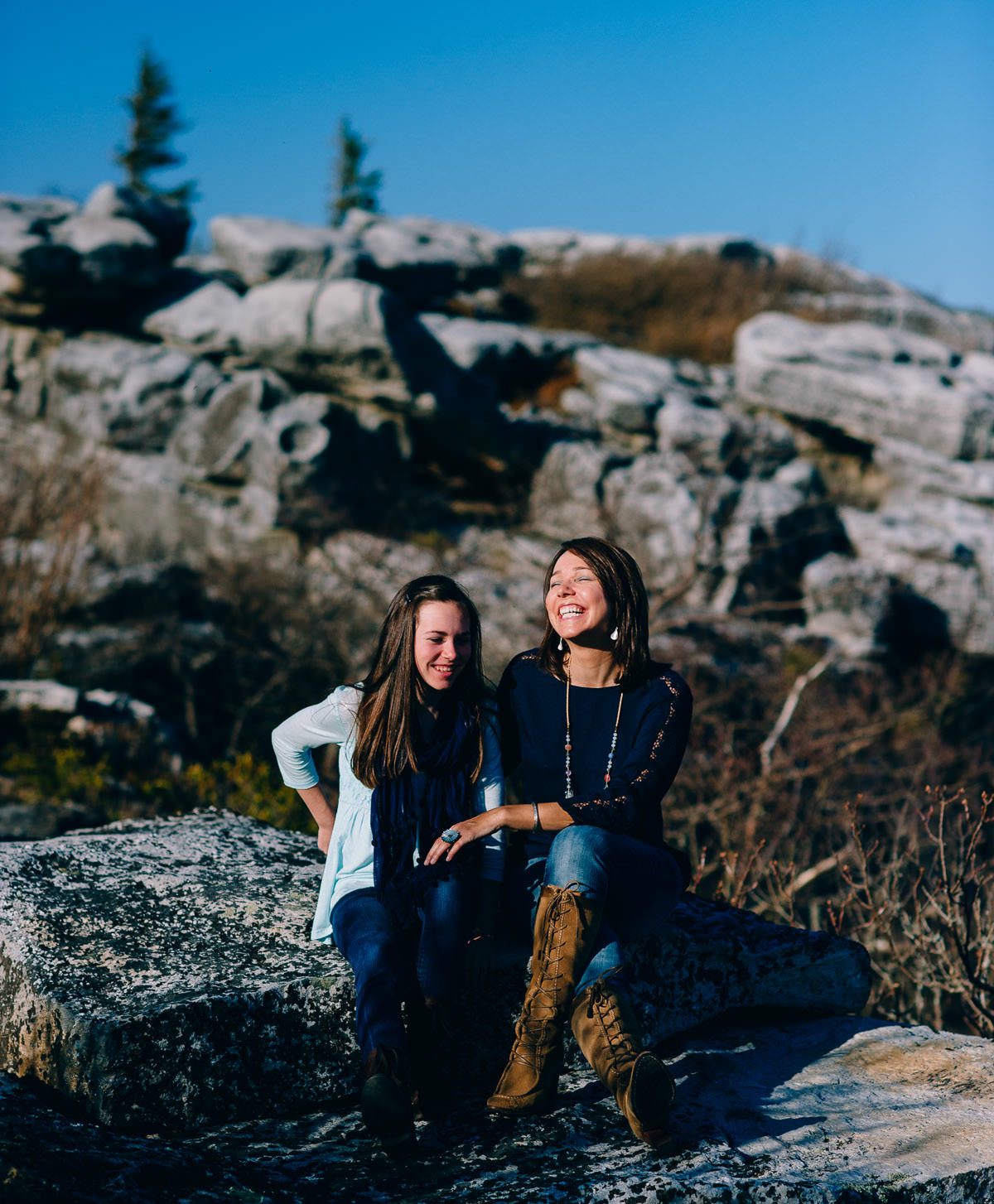 mother and daughter portraits by west virginia photographers the oberports