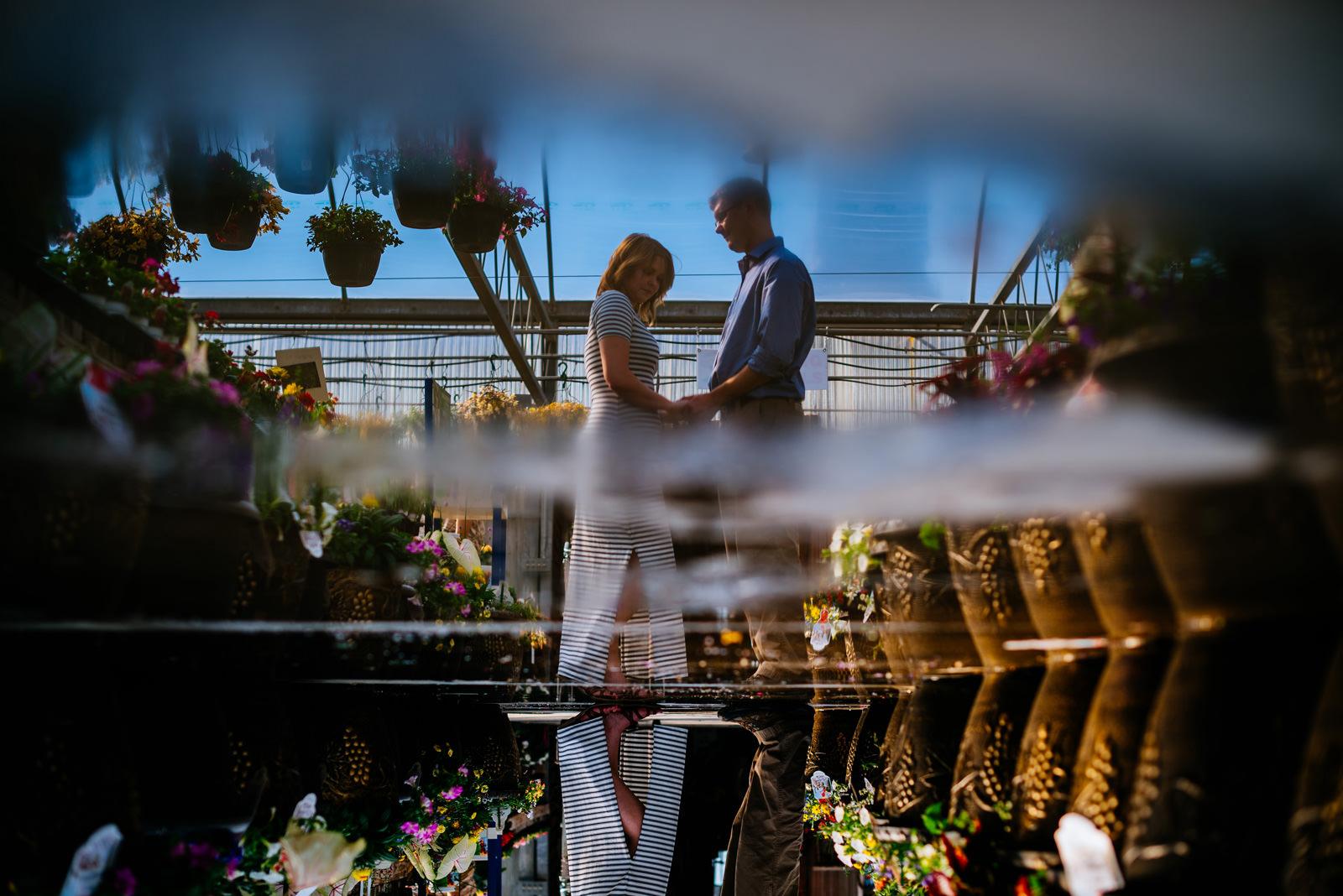 unique engagement photography