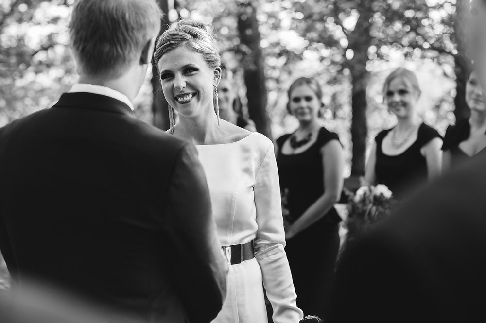 adventures on the gorge wedding ceremony