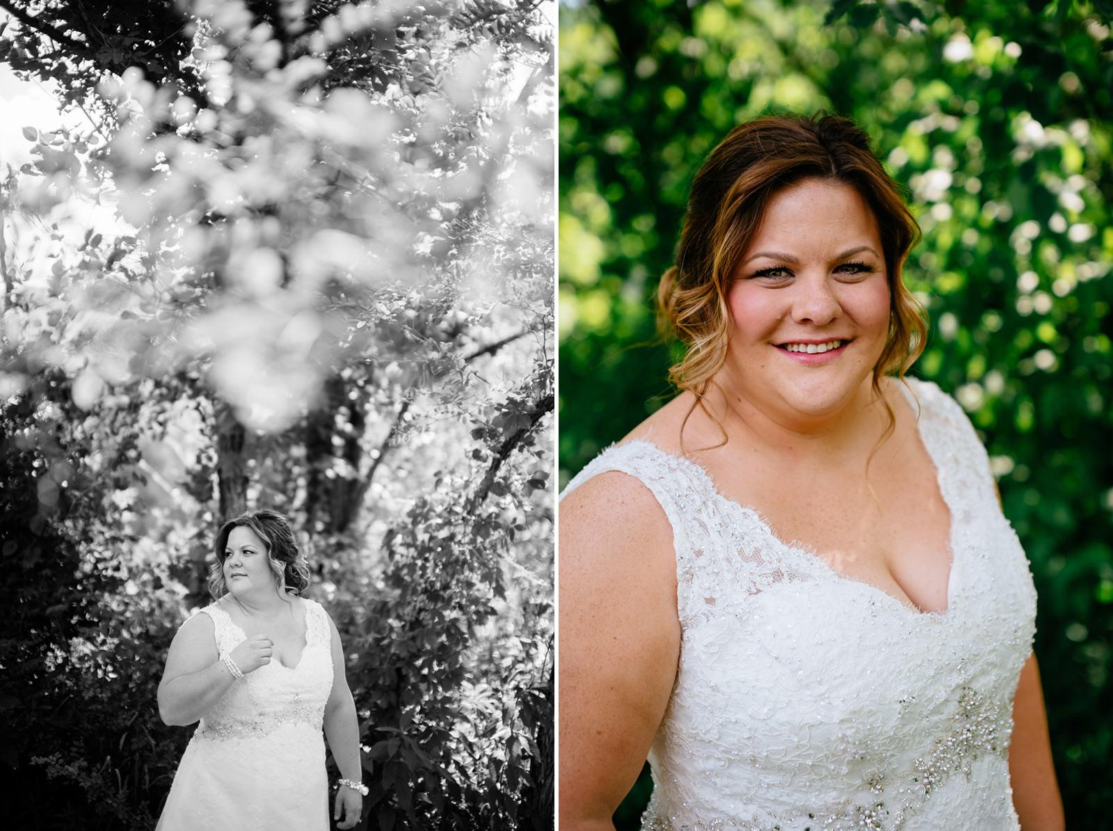 bridal portraits oberports west virginia weddings