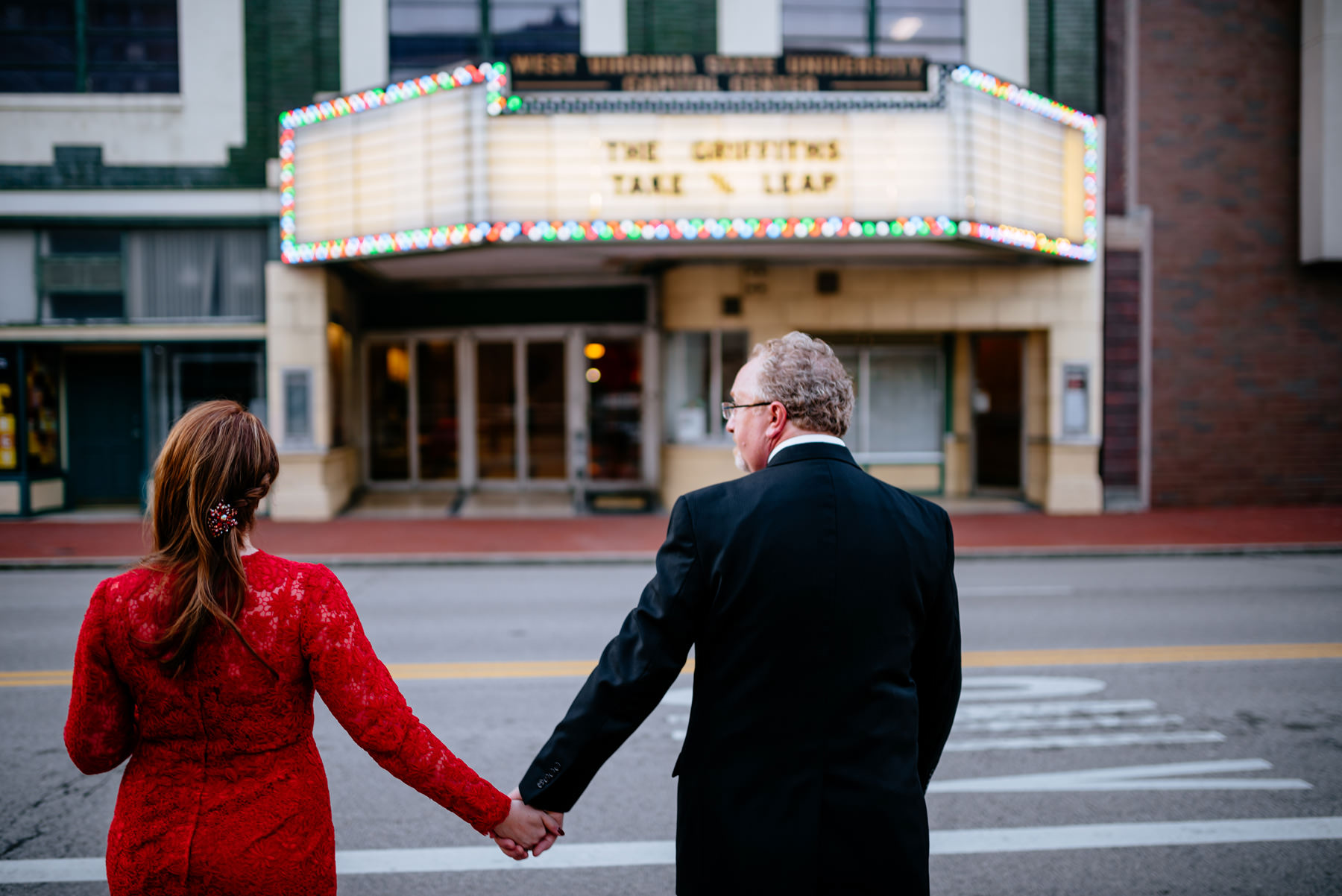 theater wedding ceremony charleston wv
